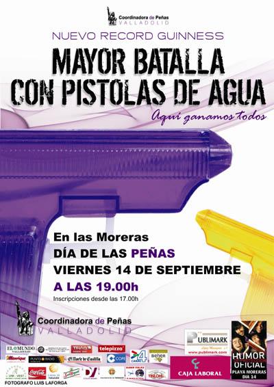 Batalla de Pistolas de Agua Valladolid