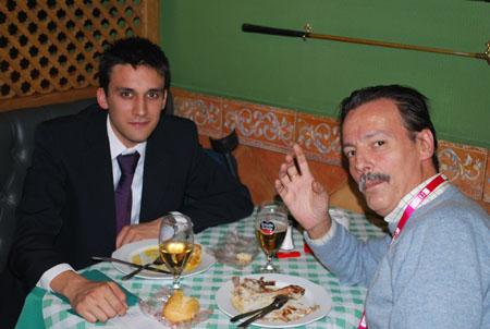 Jaime Jalon y Damian Andres Restaurante Green