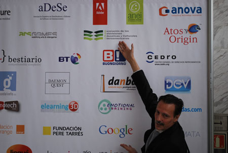 Damian el sagaz Ingeniero en Ficod 2009