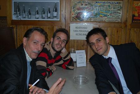 Jaime Jalon, Damian Andres, Alberto A1berto... que estaran tramando