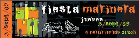 Invitación Fiesta Marinera