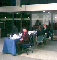 Mesa Azafatas Congreso Web Master