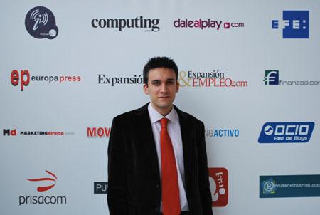 Damian en Ficod 2009