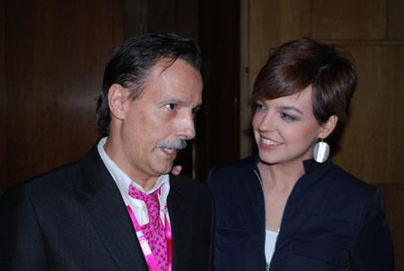 Cristina y Jaime Jalon Consultor SEO en Ficod 2009