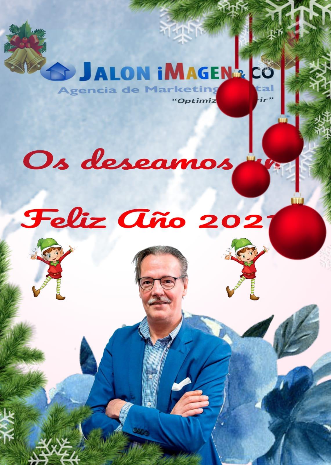 Desarrollo Diseño de Paginas web Valladolid os Desea un feliz Navidad 2020