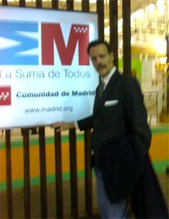 En el stan de La comunidad de Madrid