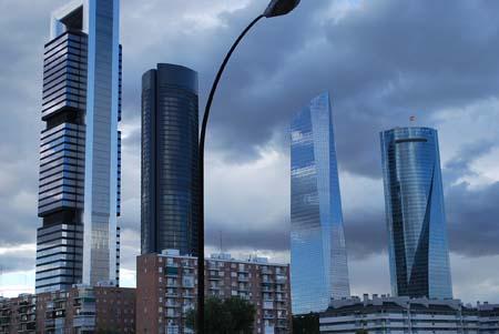 Vistas des de Madrid desde  Chamartin