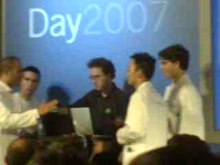 google developer day taller de gadgets
