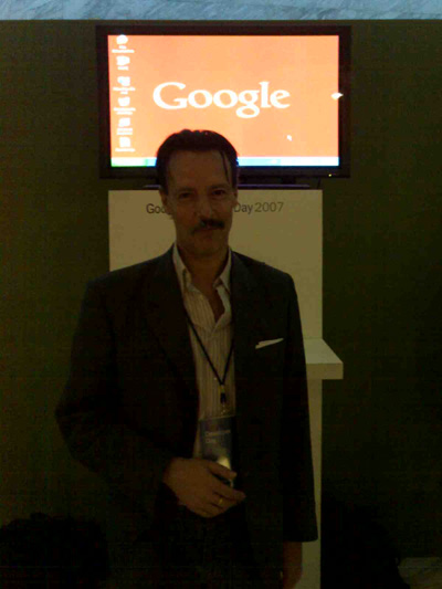 google developer day y Jaime Jalon