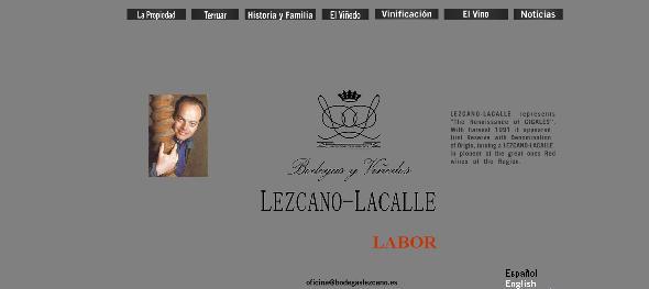 Bodegas Lezcano Diseño de Imago Imagen