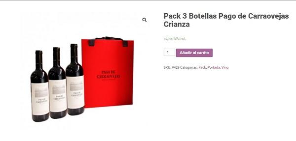 Comprar Pago de Carraovejas