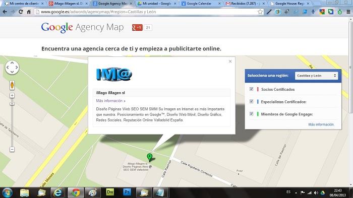 Google-Agency-Map-iMago-iMagen-Desarrollo-Paginas-Web