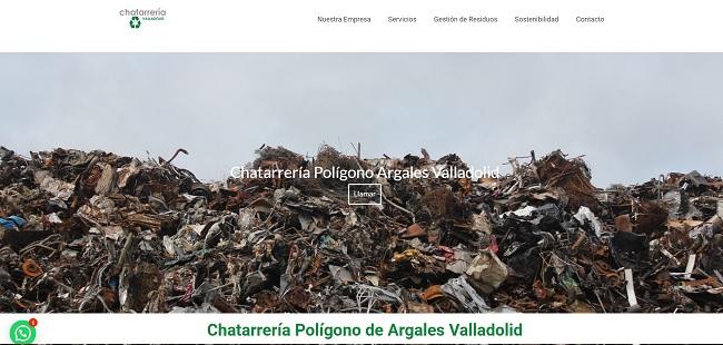 Empezamos a trabajar con una empresa de reciclaje de residuos de Valladolid