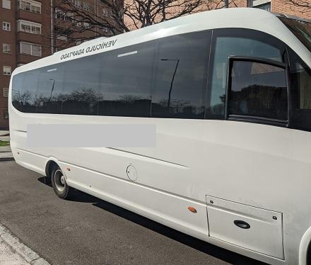 Alquiler minibús con conductor Madrid